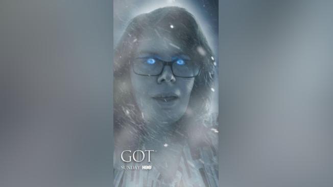 Lenslist Game Of Thrones Snapchat Filter Makes You A White Walker